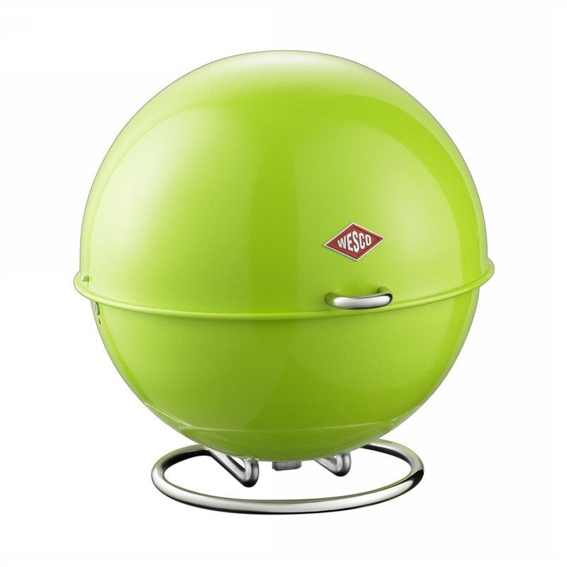 Wesco Superball Steel Storage Container - Lime Green