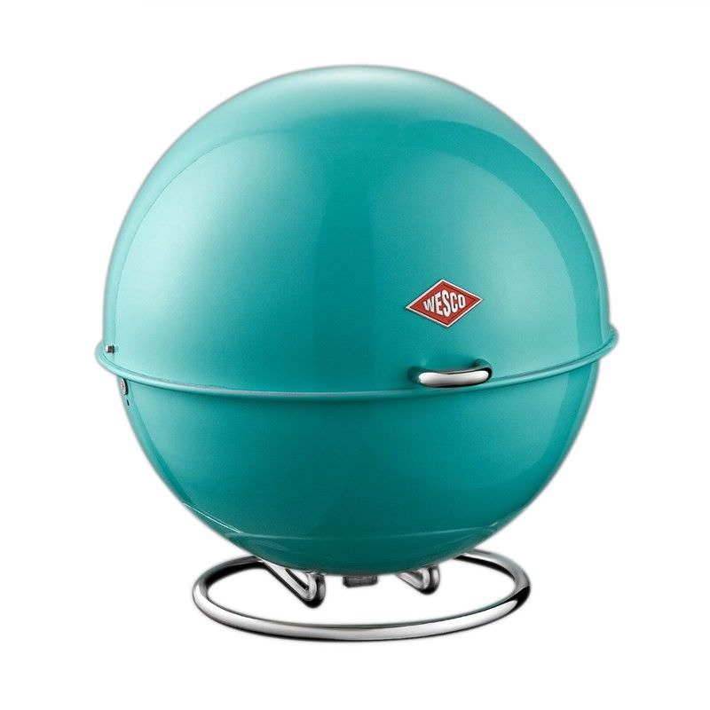 Wesco Superball Steel Storage Container - Turquoise