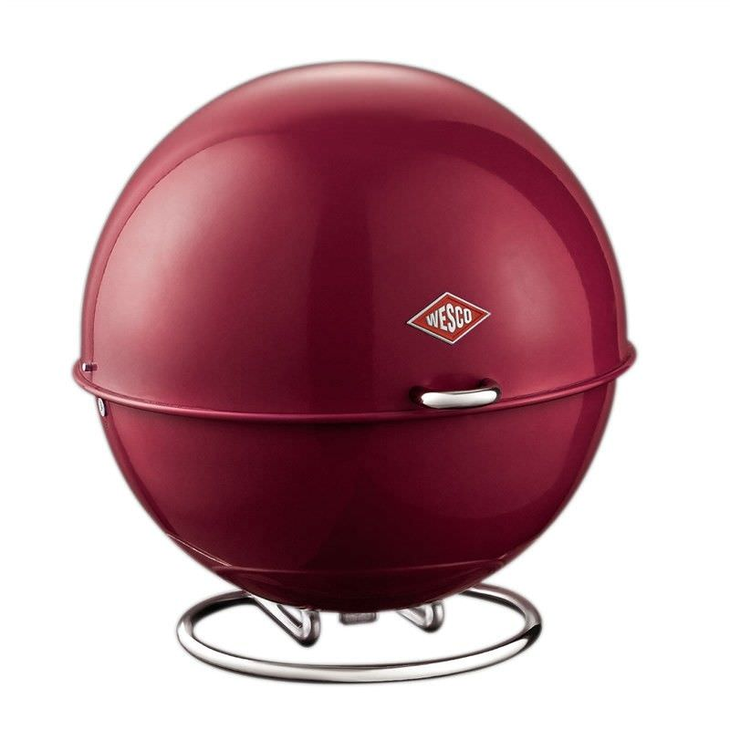 Wesco Superball Steel Storage Container - Rubi Red