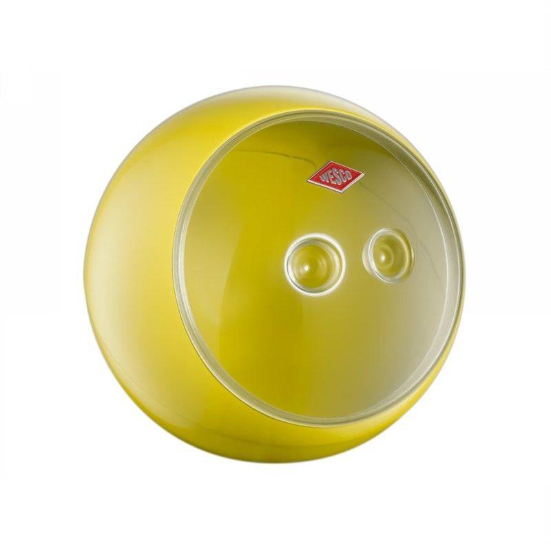 Wesco Spacy Ball Steel Storage Container - Lemon Yellow