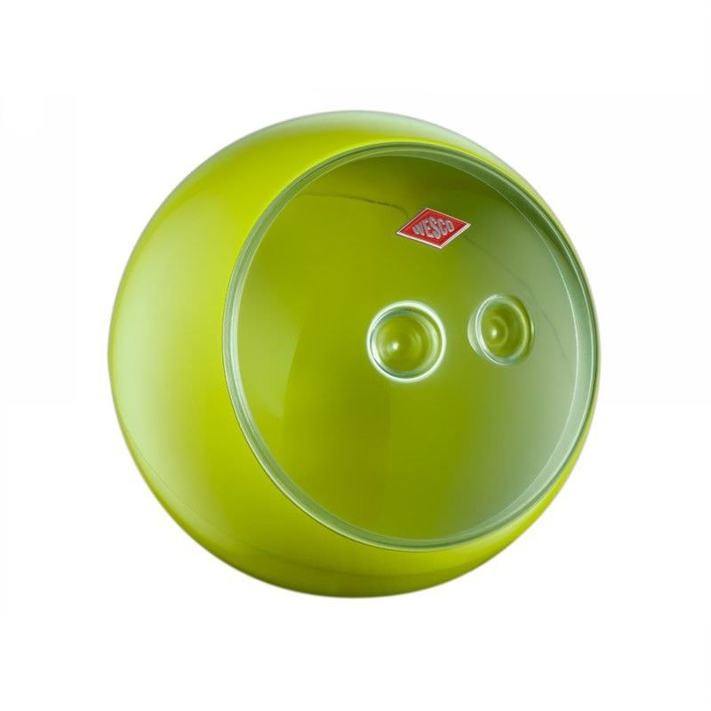 Wesco Spacy Ball Steel Storage Container - Lime Green