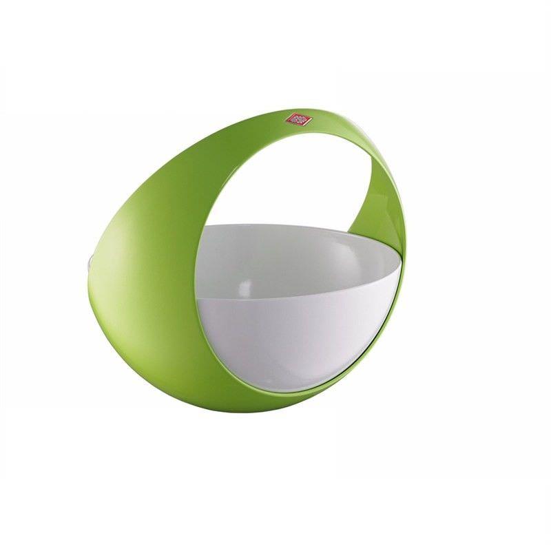Wesco Spacy Steel Fruit Basket - Lime Green