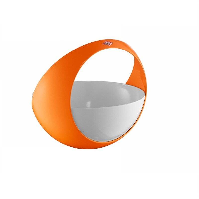 Wesco Spacy Steel Fruit Basket - Orange