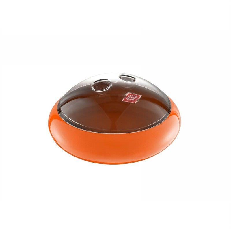 Wesco Spacy Peppy Steel Storage Canister - Orange