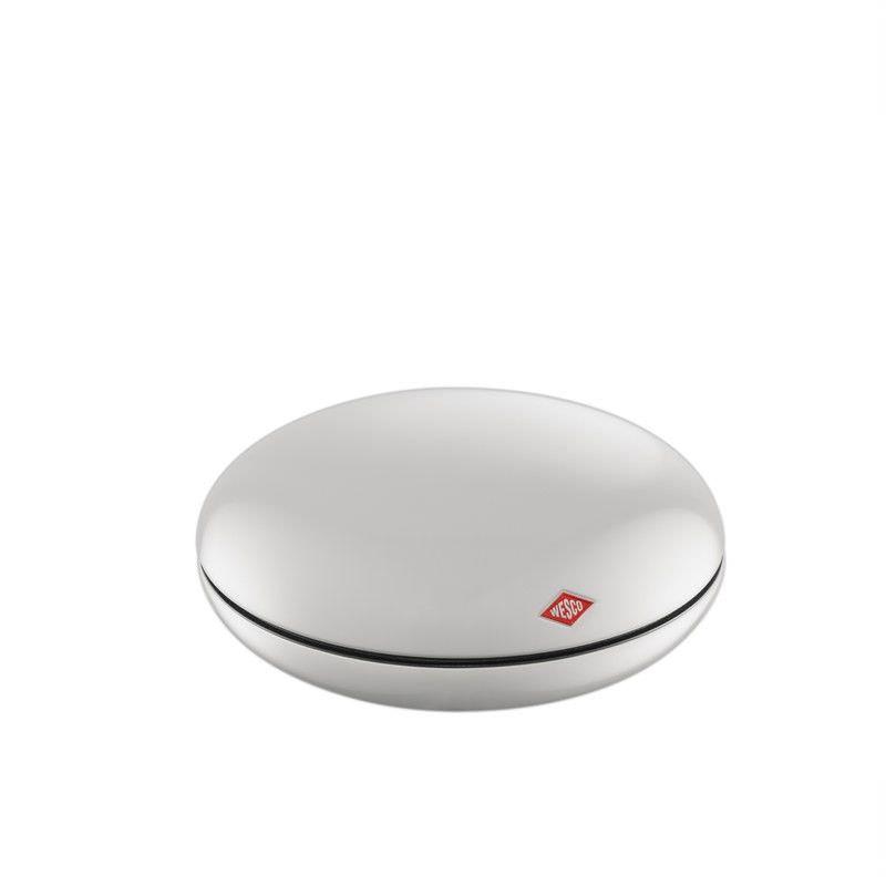 Wesco Peppy Can Steel Storage Box - White