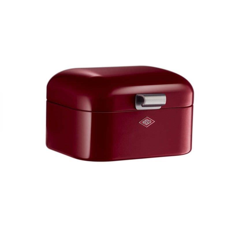 Wesco Mini Grandy Steel Storage Box - Rubi Red