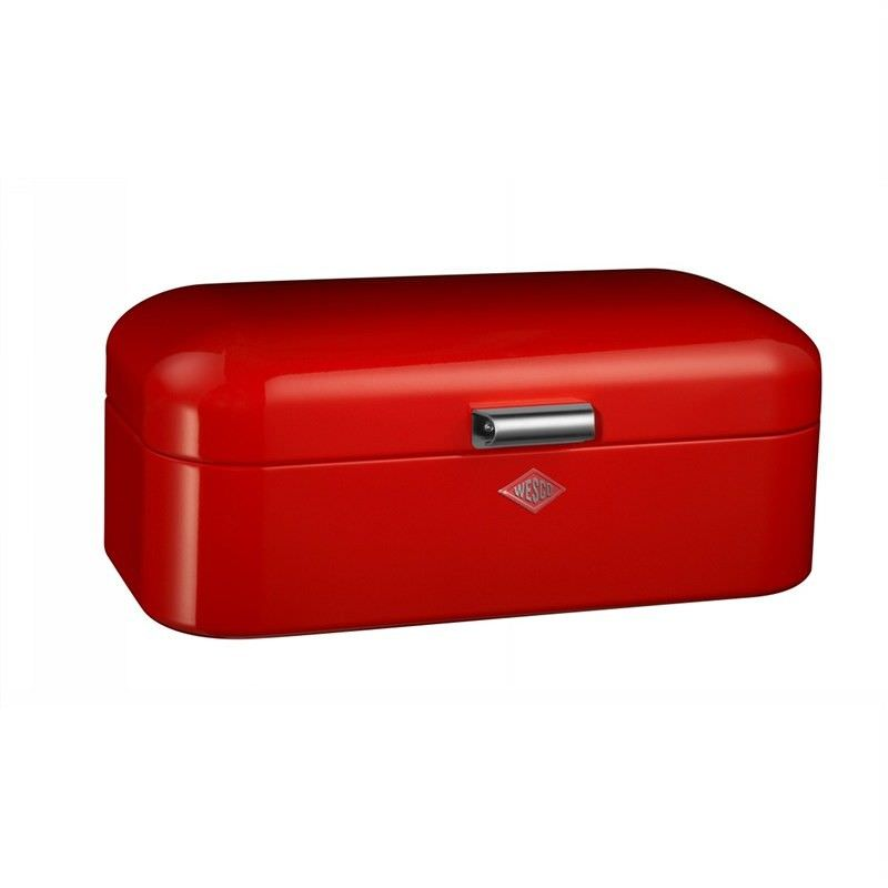 Wesco Grandy Steel Storage Box Red