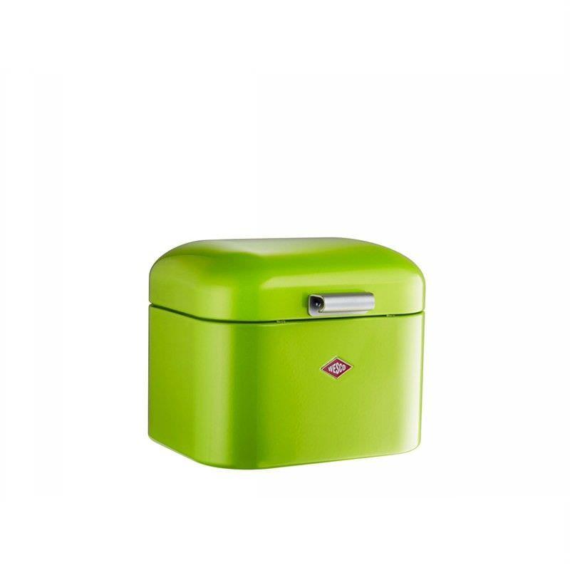 Wesco Super Grandy Steel Storage Box - Lime Green