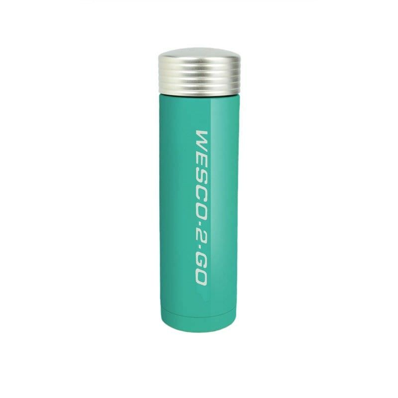 Wesco 350ml Stainless Steel Vacuum Flask for Hot and Cold Drinks - Turquoise