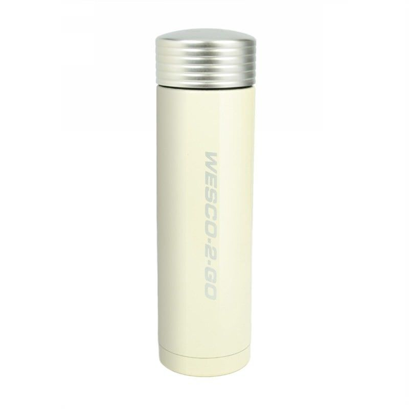 Wesco 450ml Stainless Steel Vacuum Flask for Hot and Cold Drinks - Almond