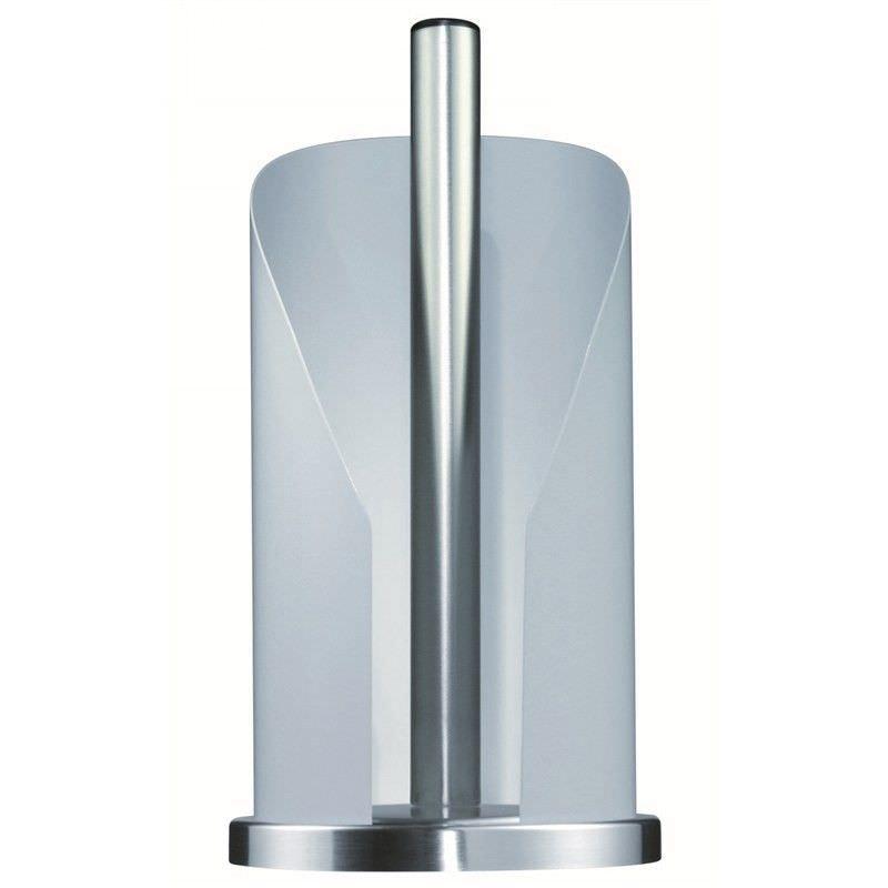 Wesco Steel Paper Roll Holder - White