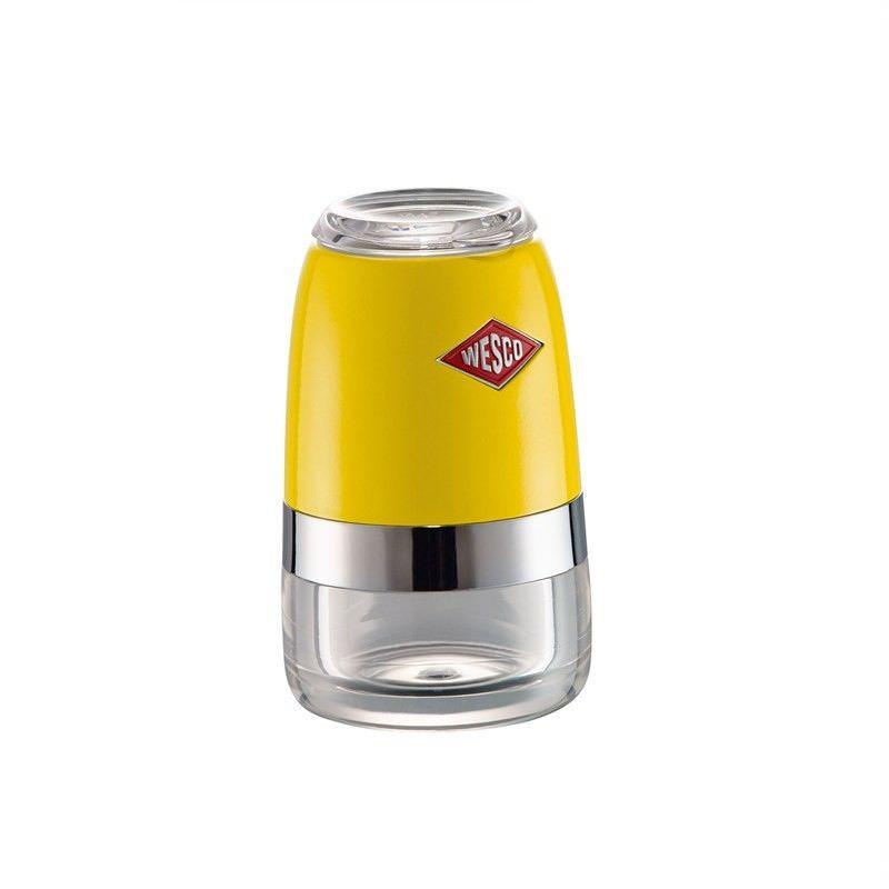 Wesco Small Spice Grinder, Lemon Yellow