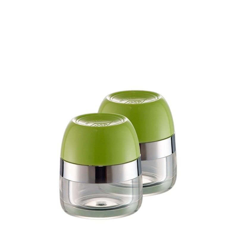Set of 2 Wesco Spice Storage Canister - Lime Green