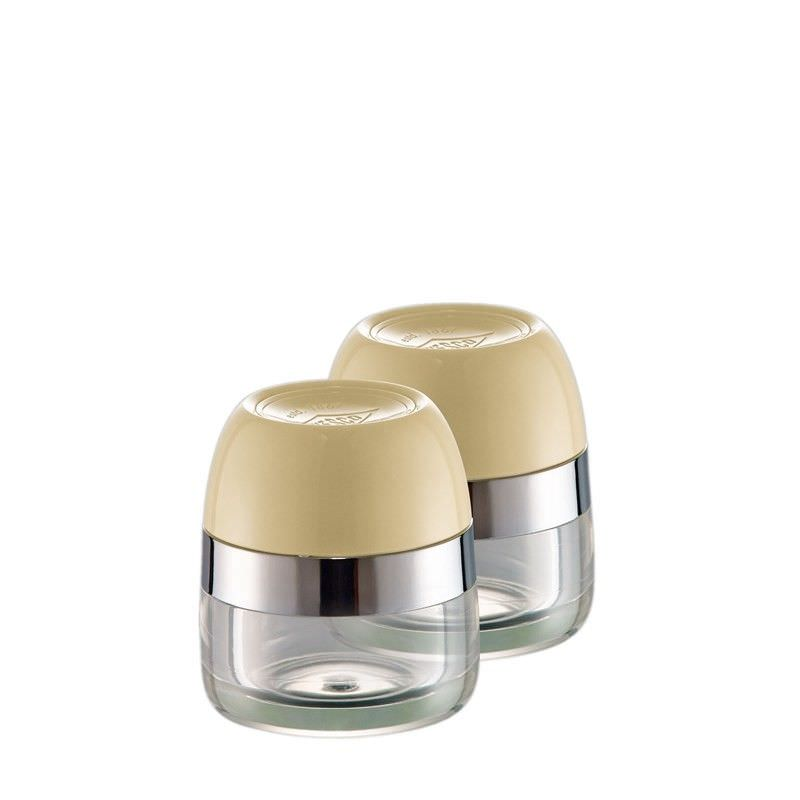 Set of 2 Wesco Spice Storage Canister - Almond