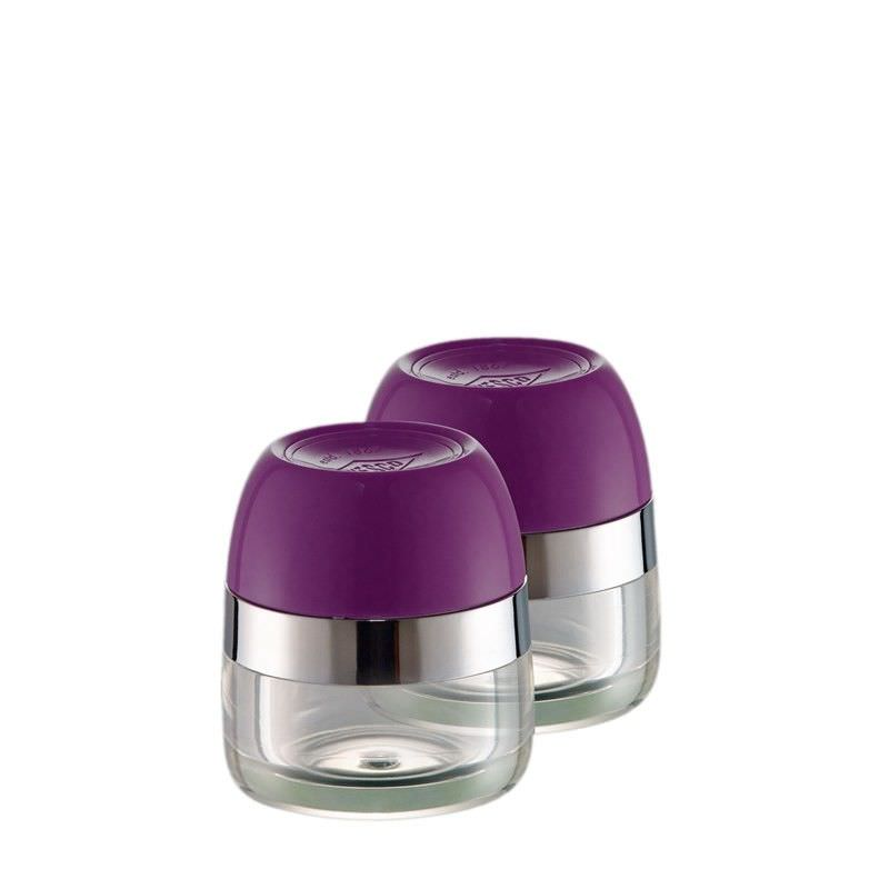 Set of 2 Wesco Spice Storage Canister - Lilac