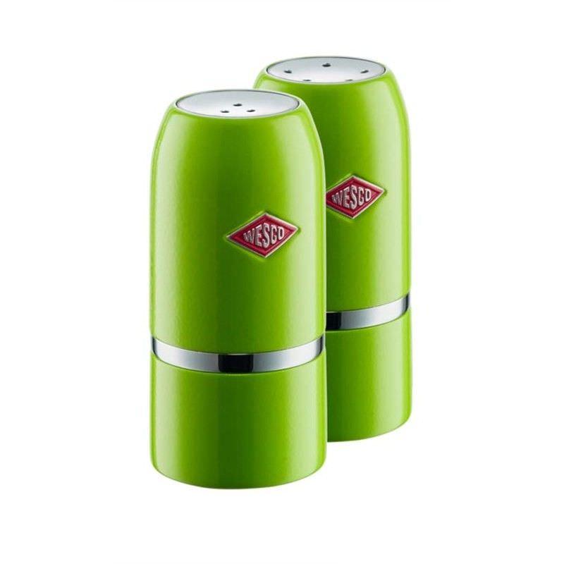 Wesco Salt & Pepper Shaker Set - Lime Green