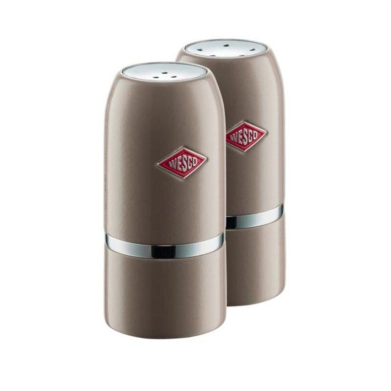 Wesco Salt & Pepper Shaker Set - Warm Grey