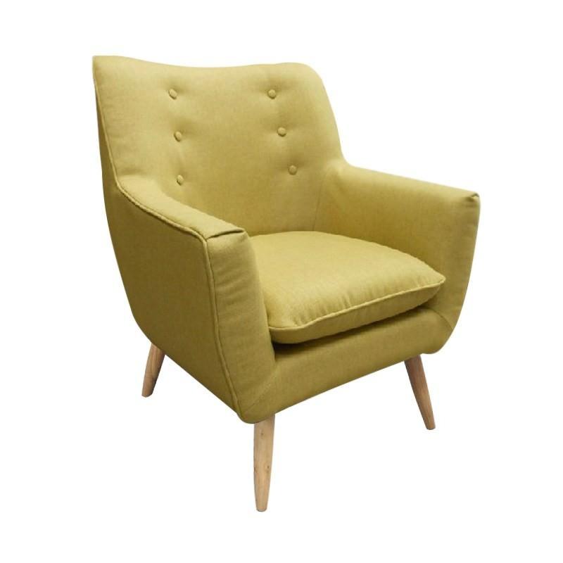 Rialto Fabric Armchair, Green