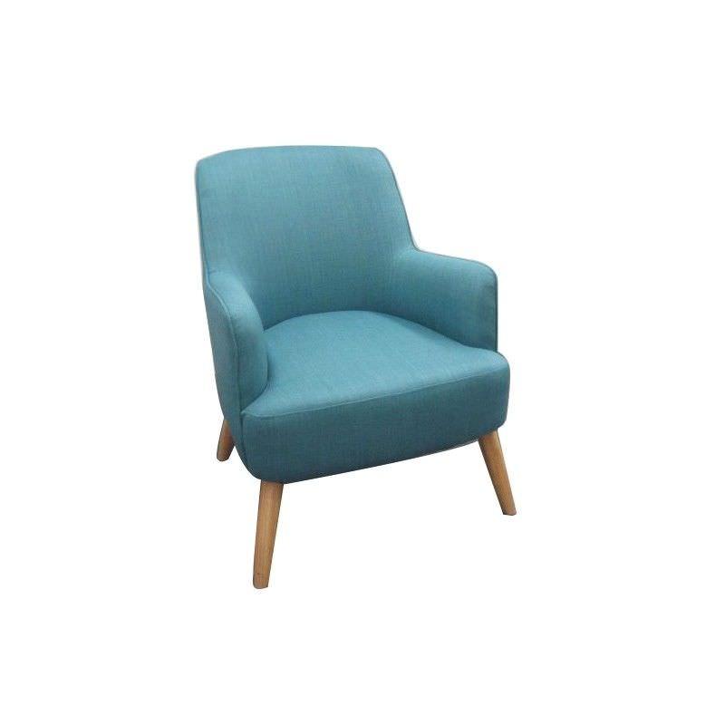 Rudd Fabric Armchair, Blue