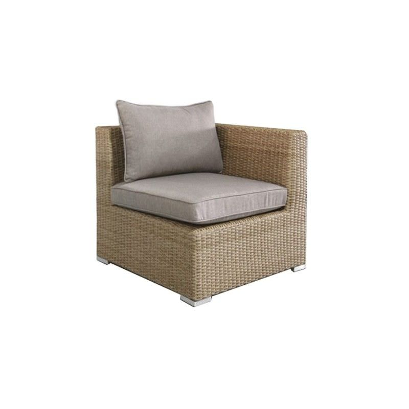 Moluman Outdoor Wicker Modular Side Armchair