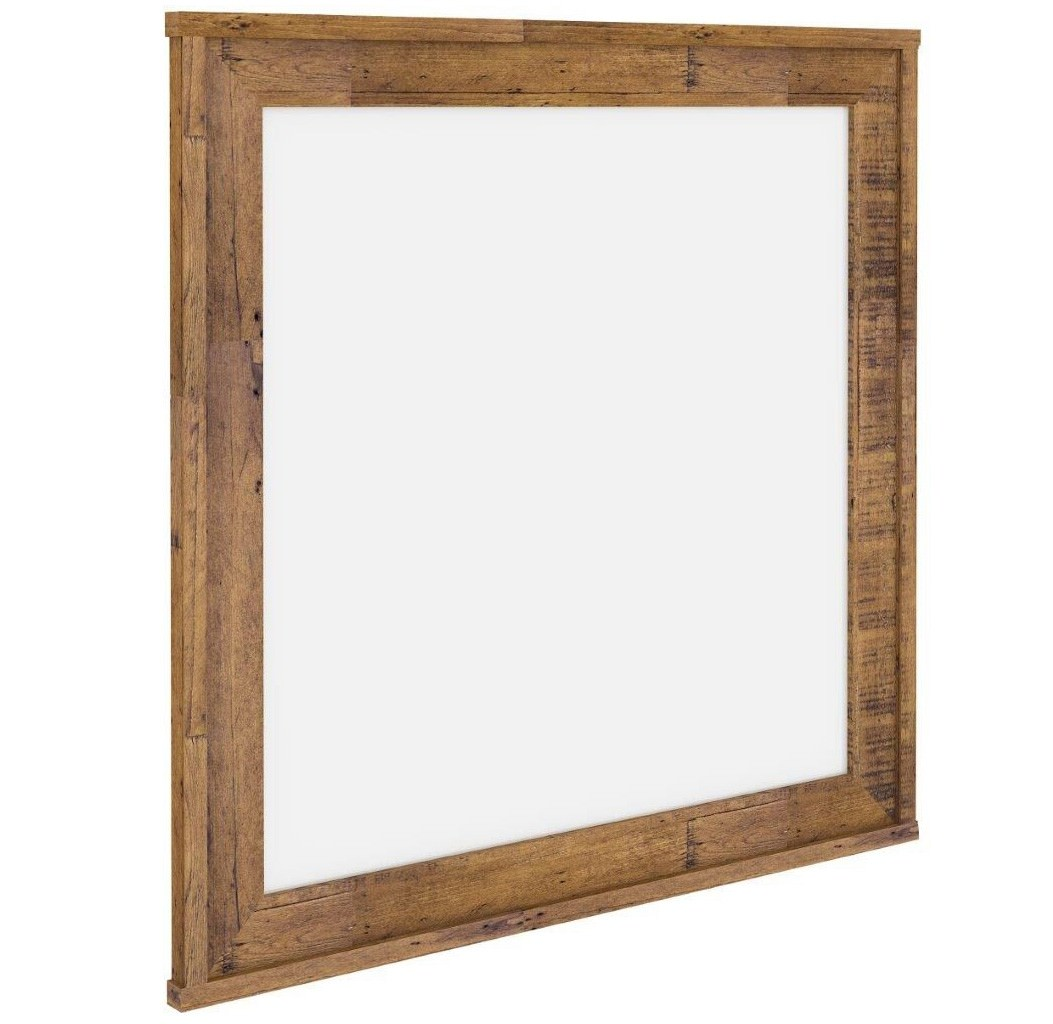 Francis Blackwood Timber Frame Dressing Mirror, 104cm
