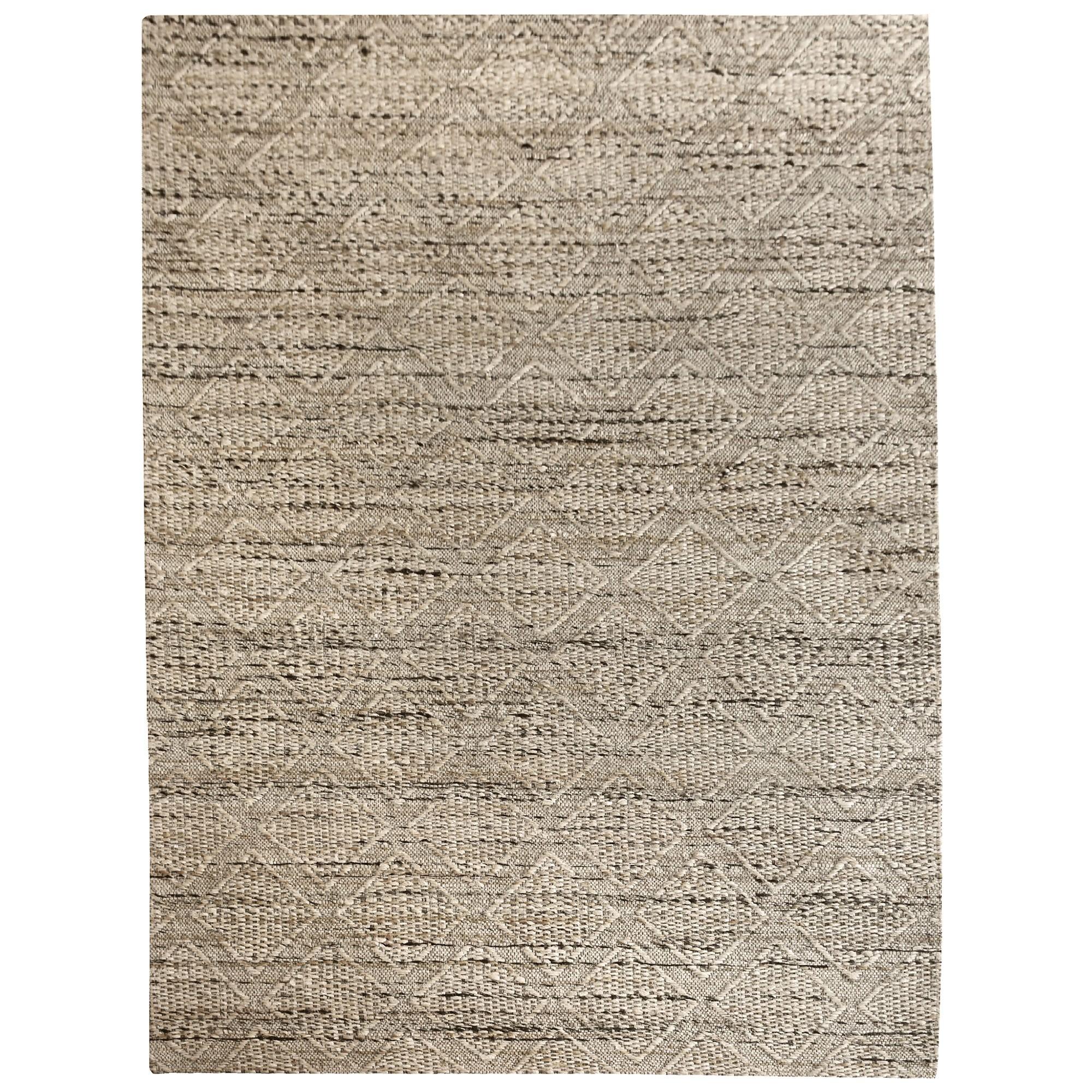 Esamont Textured Hemp Rug, 190x290cm, Beige