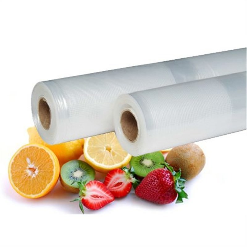 Vacuum Bag Rolls 1x6mx28cm+1x6mx22cm For Vacuum Food Sealer