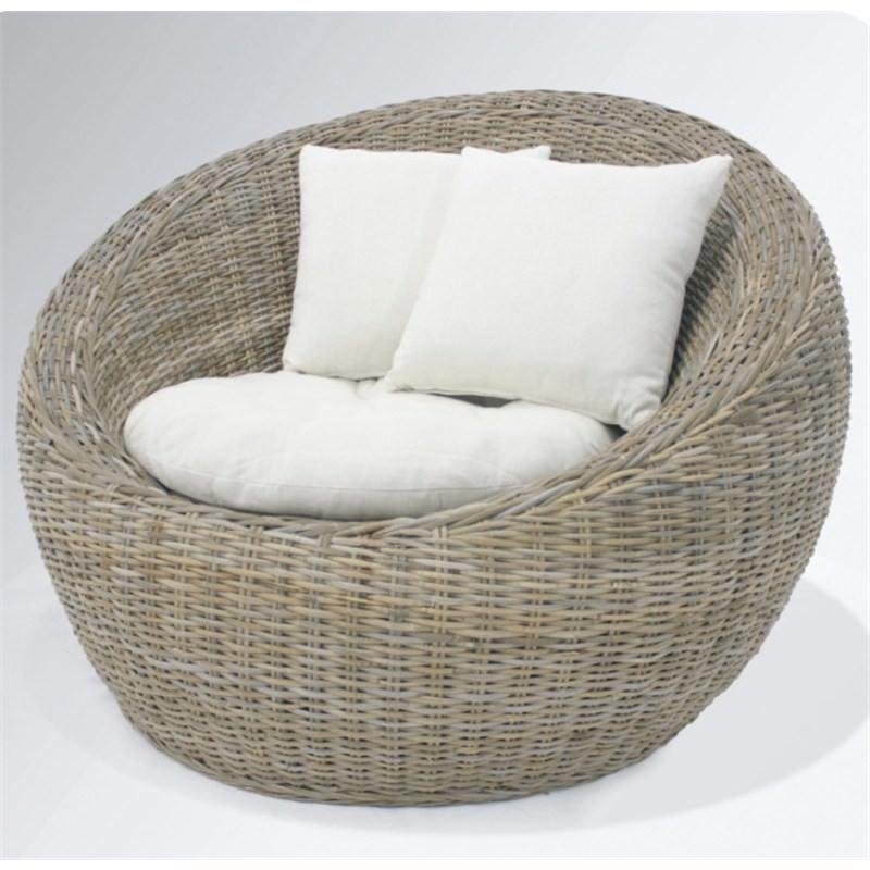 Carlos Chair with Cushions, Kubu