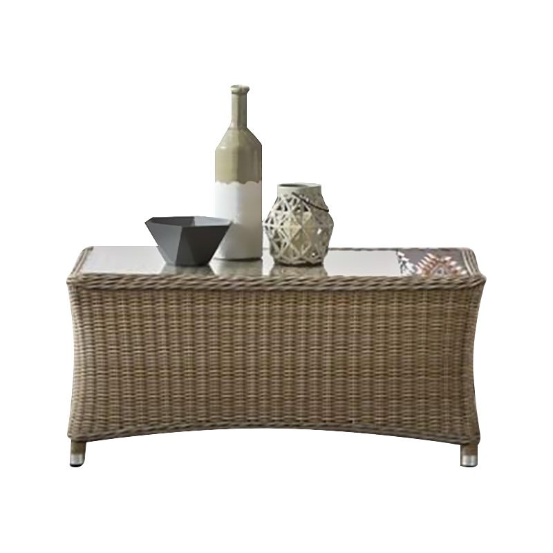 Felicity Wicker Outdoor Coffee Table, 102cm