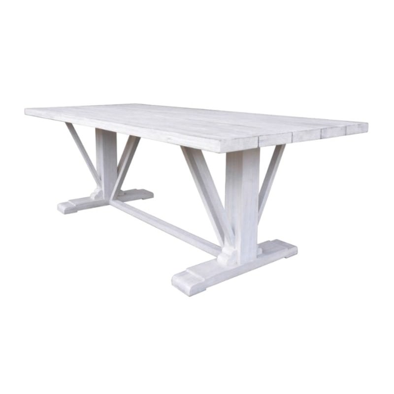 Prockmoor Acacia Timber Outdoor Dining Table, 260cm