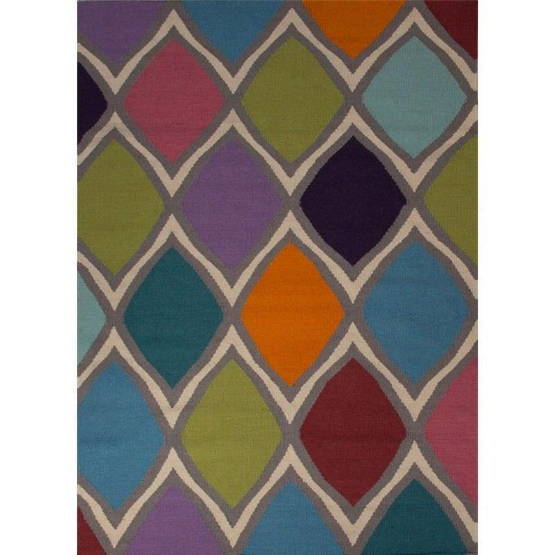 Eld Hand Woven 152x244cm Wool Rug