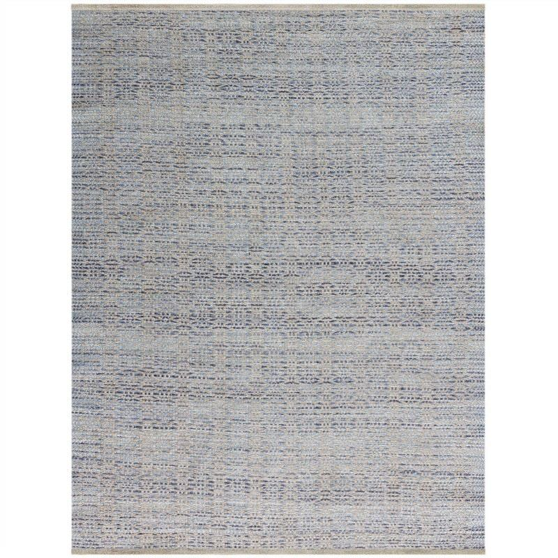 Serenity 160x230cm Hand Made Jute and Rayon Rug - Polo Blue