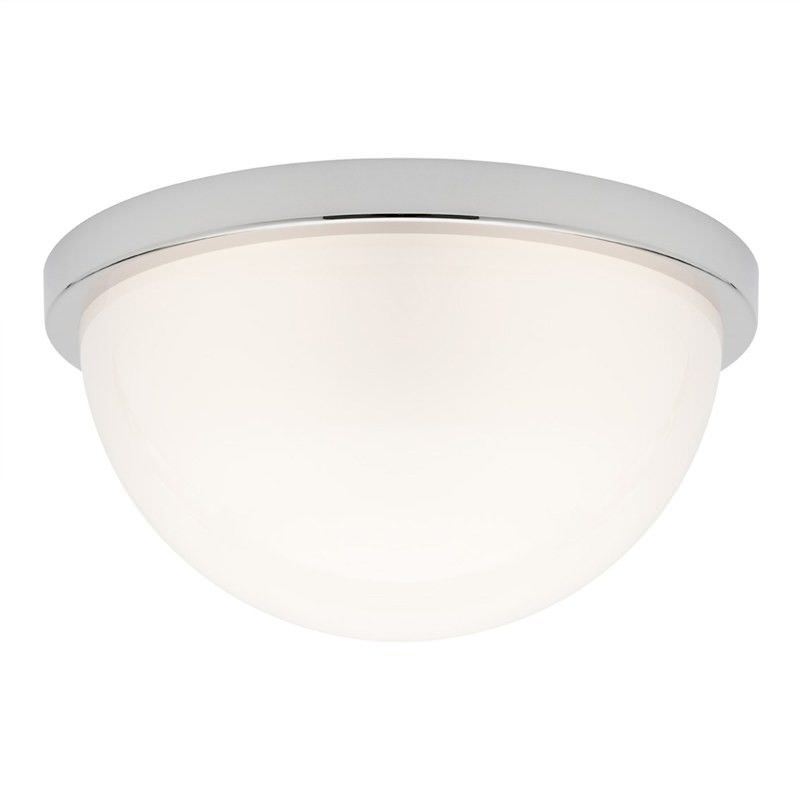 Versailles Glass Shade Oyster Ceiling Light