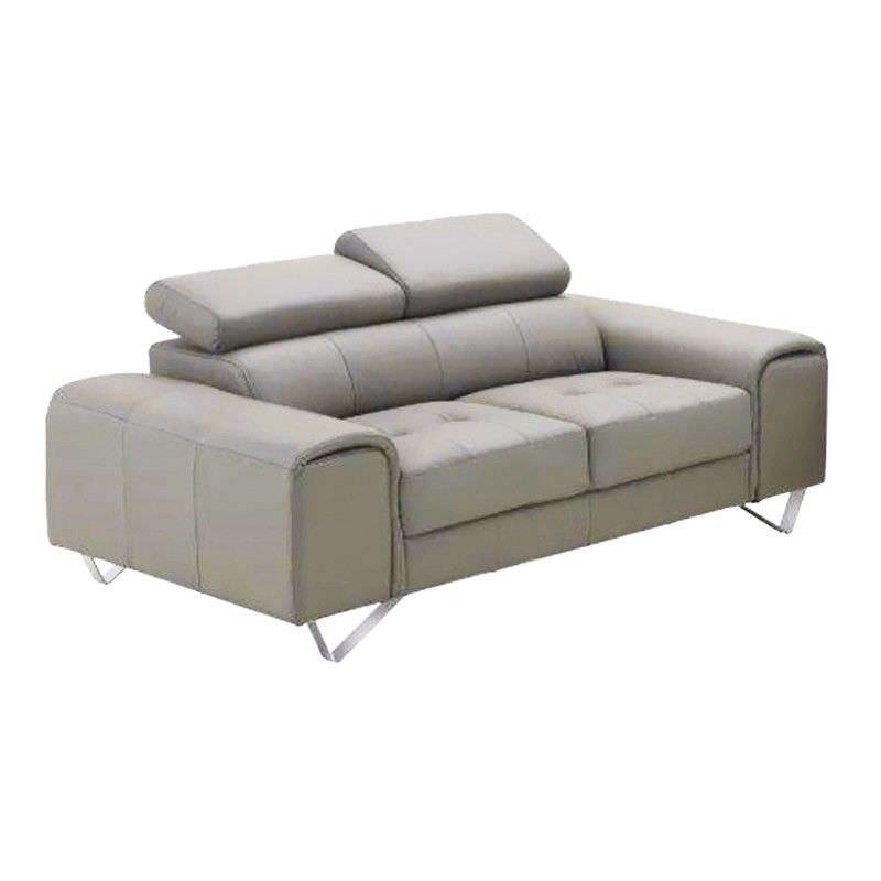 Majorca 2 Seater Leather Sofa, Sand