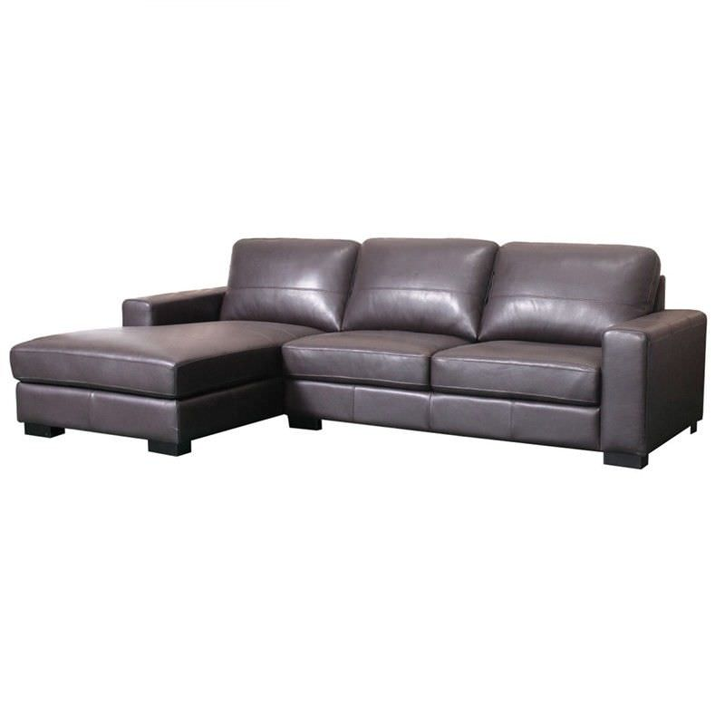 Quartz Left Hand Facing Chaise Sofa: Rankin 2.5 Seater Leather Corner Sofa With Left Hand