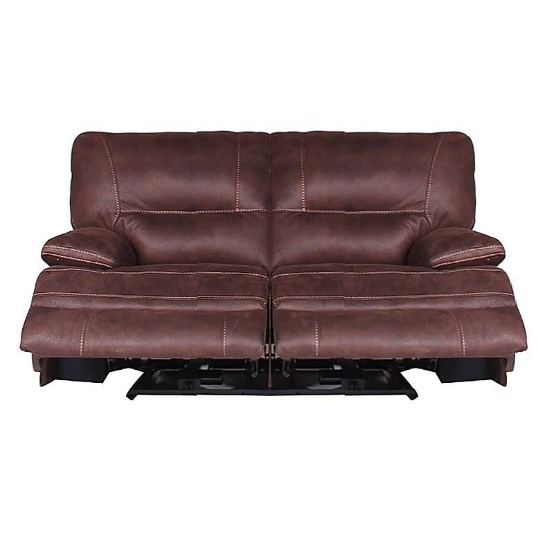 Poplar Fabric 2 Seater Recliner Sofa