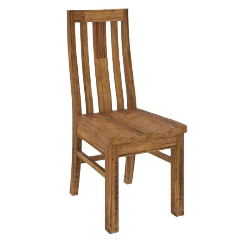 Ashton Mountain Ash Timber Dining Chair with Timber Seat