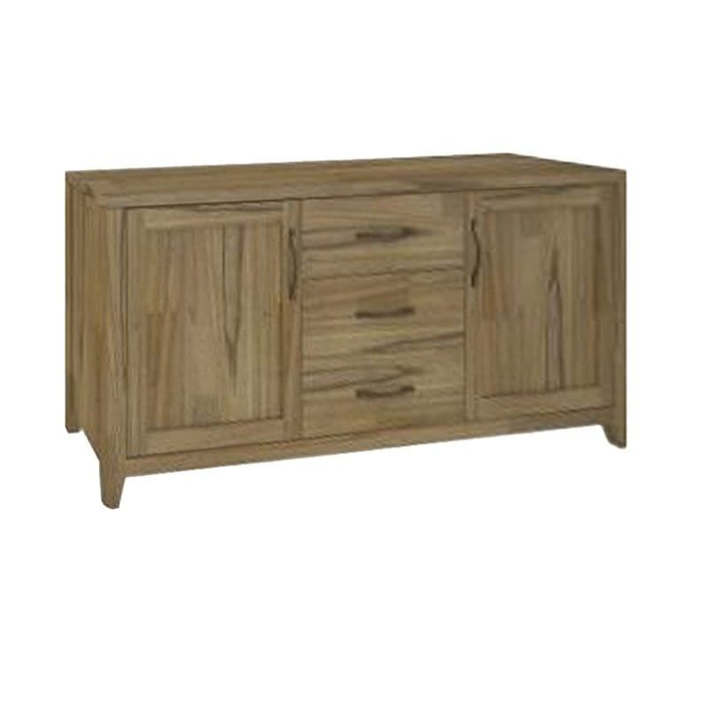 Cosmo Solid Mountain Ash Timber 2 Door 3 Drawer 175cm Buffet Table