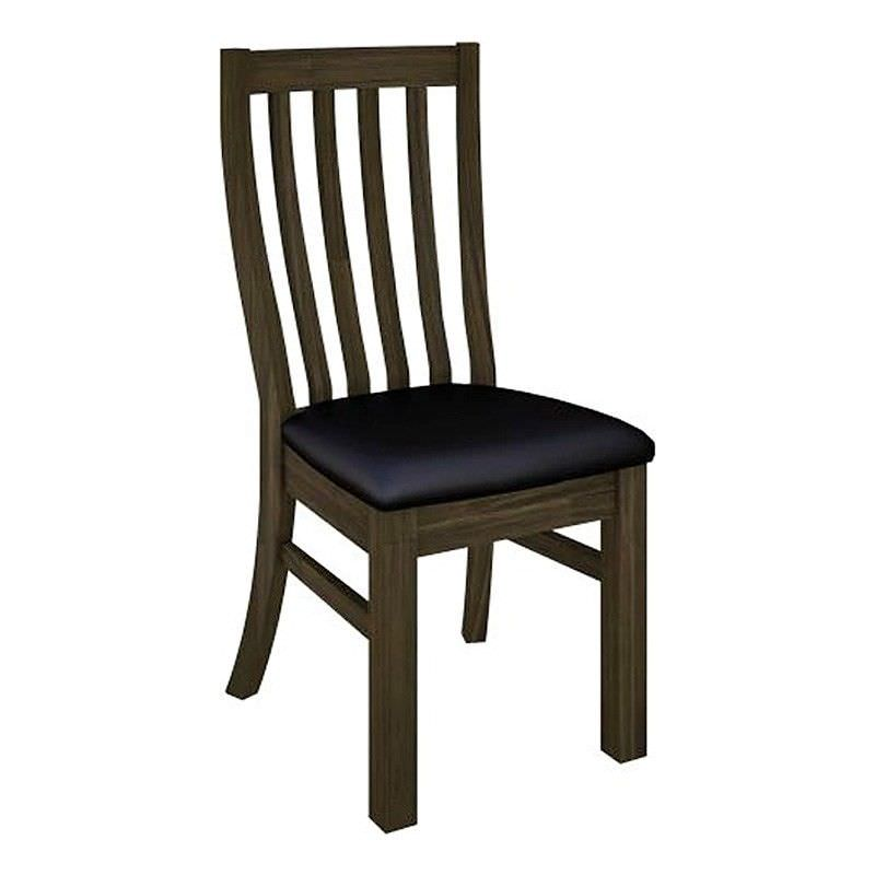 Mitchell Solid Acacia Timber Dining Chair with Fabric Seat