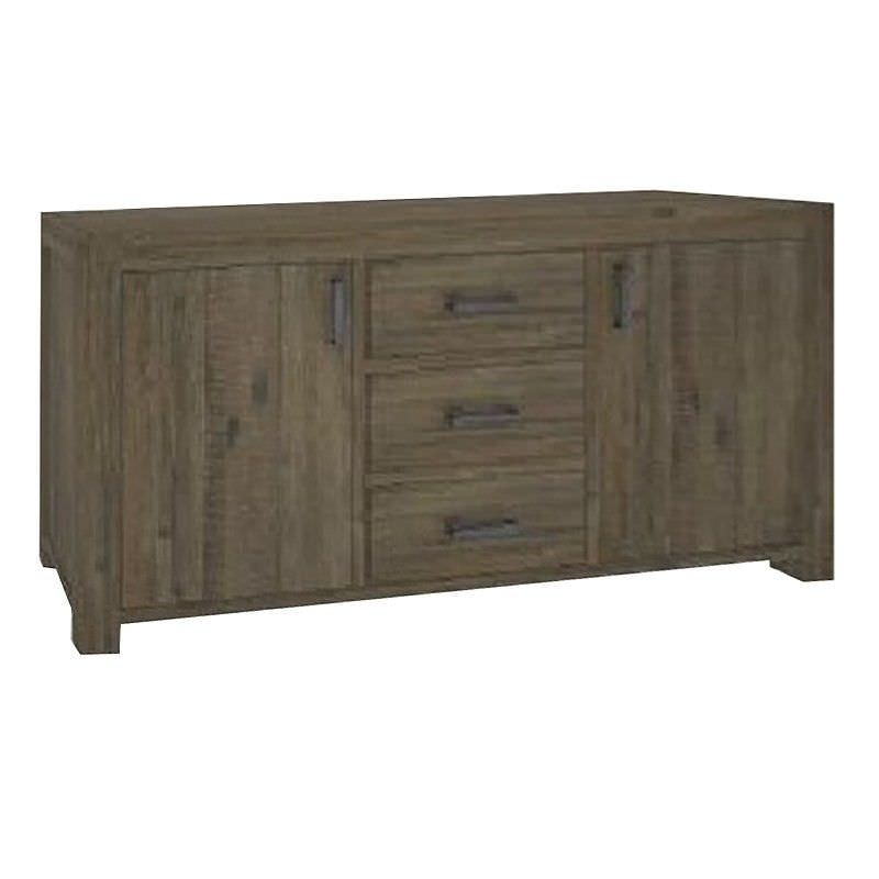 Yarsley Solid Acacia Timber 2 Door 3 Drawer 165cm Buffet Table