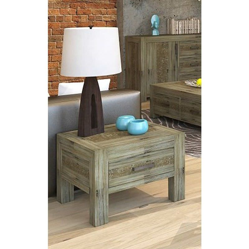 Yarsley Solid Acacia Timber Lamp Table