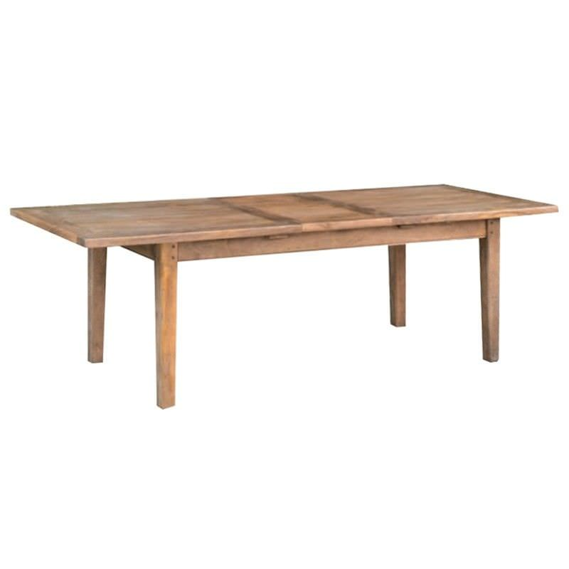 Parson Mango Wood Timber Extension Dining Table, 150-210cm