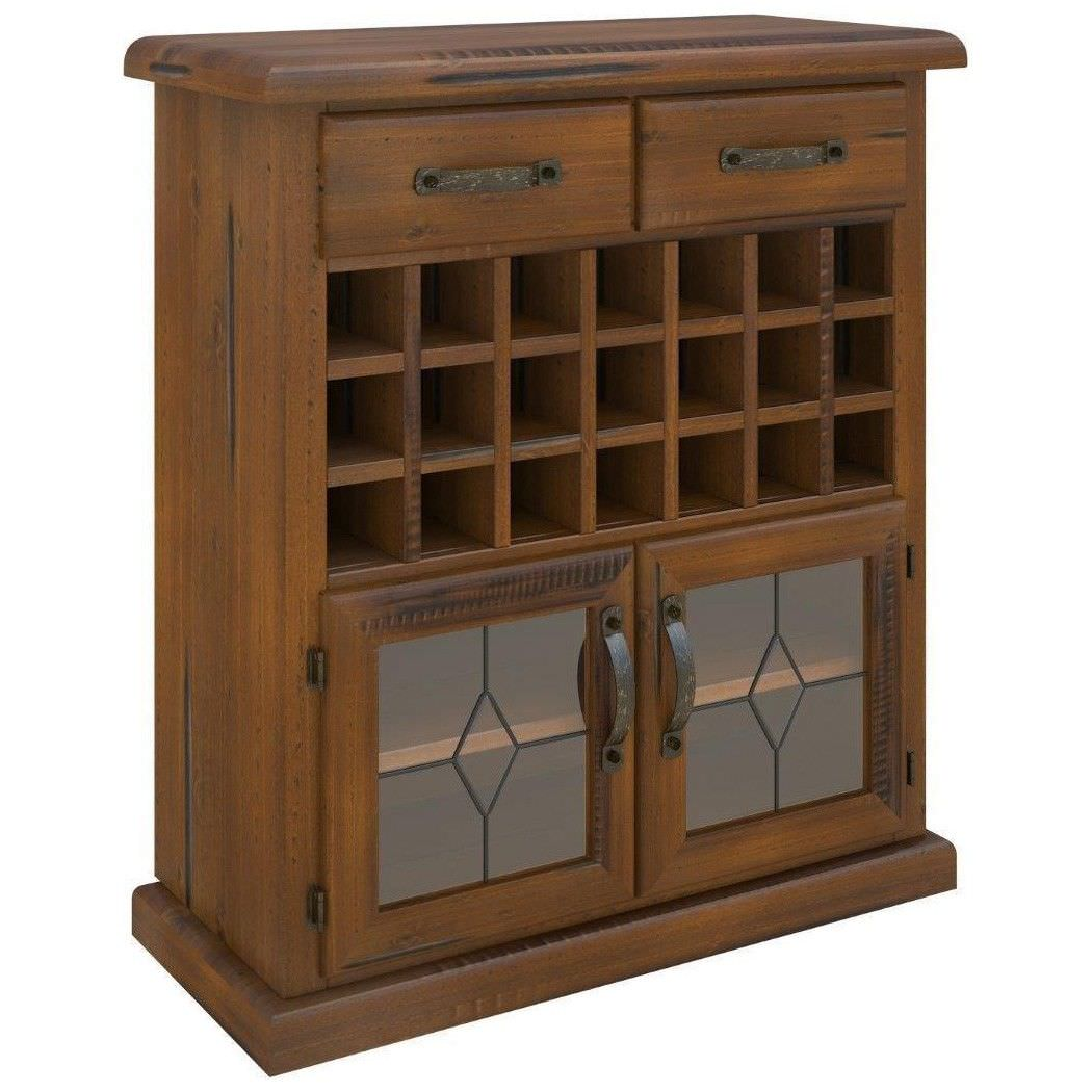 Mulford Solid Pine Timber Wine Rack