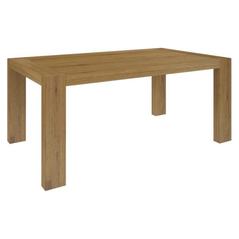 Milan Mountain Ash Timber Dining Table, 180cm, Warm Oak