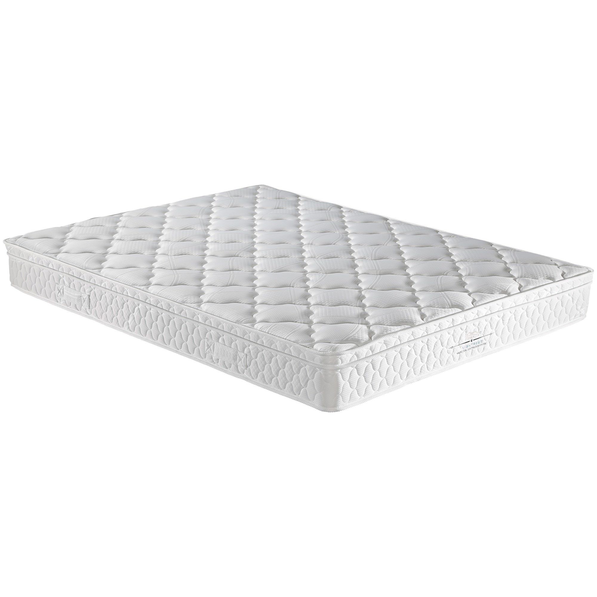 Nightrest Magic Coil Continuous Spring Mattress with Pillow Top, Single