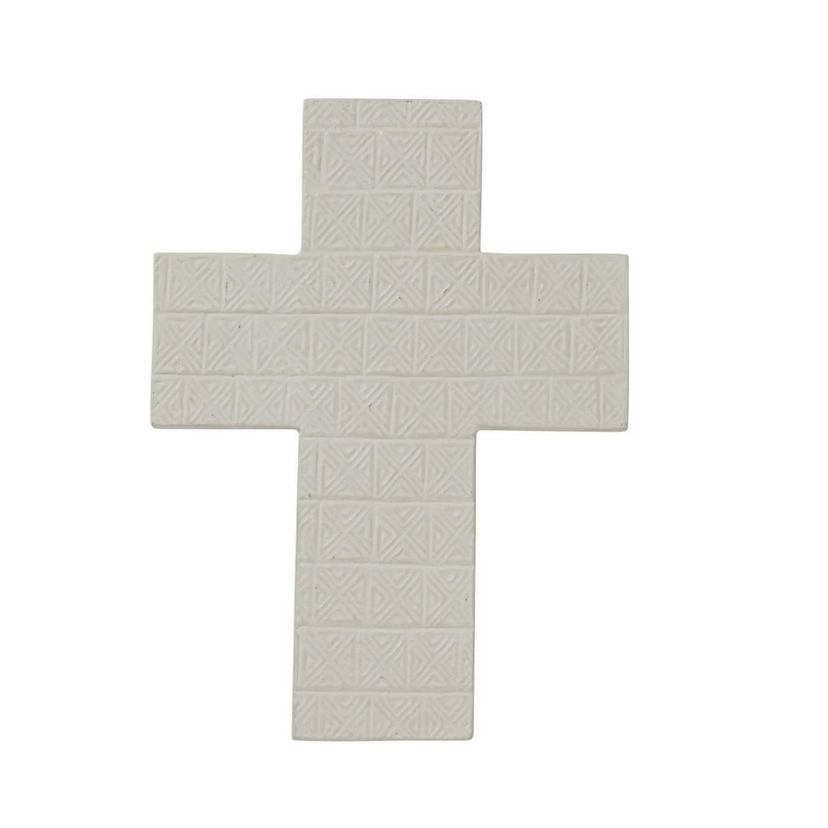 Cruze Cement Fibre Cross Wall Decor