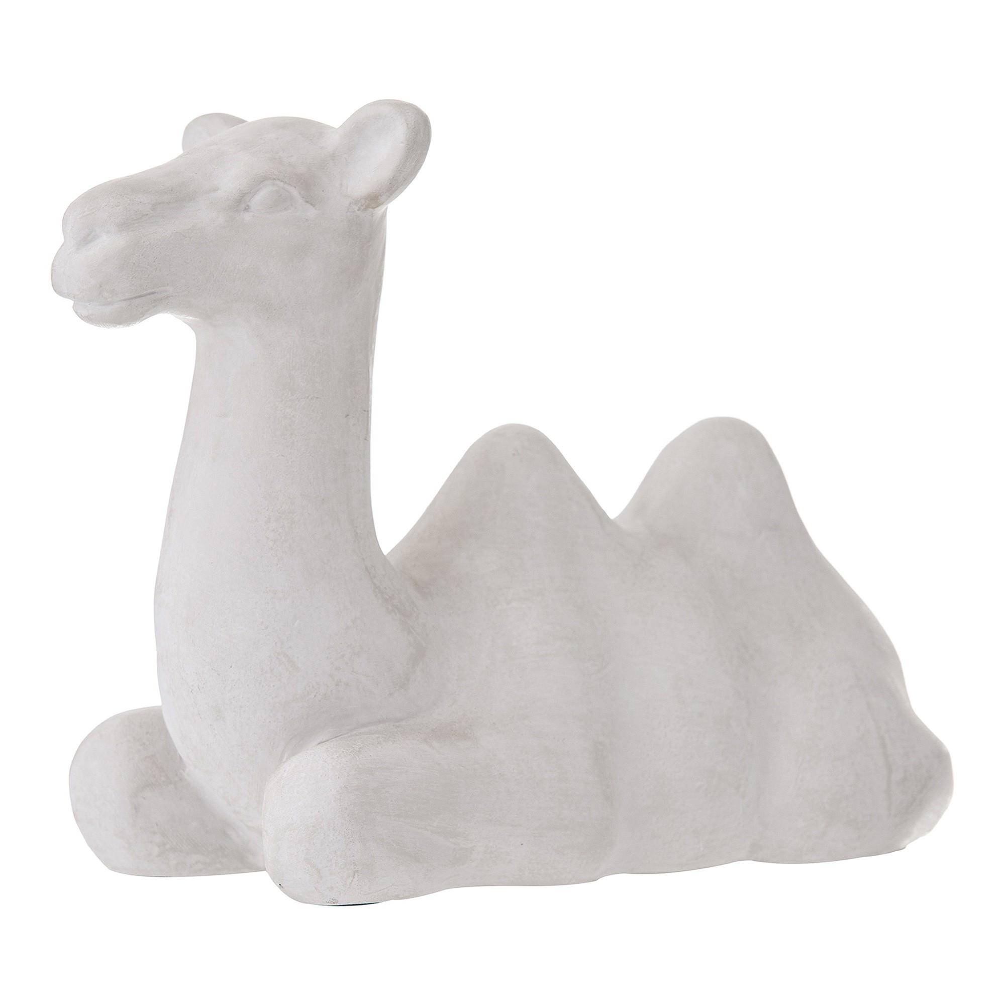 Carmela Ceramic Camel Sculpture