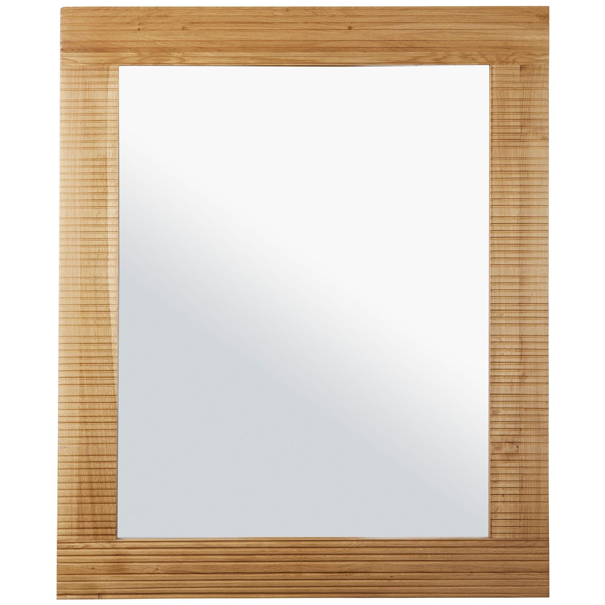 Griffin Oak Timber Framed Wall Mirror, 120cm