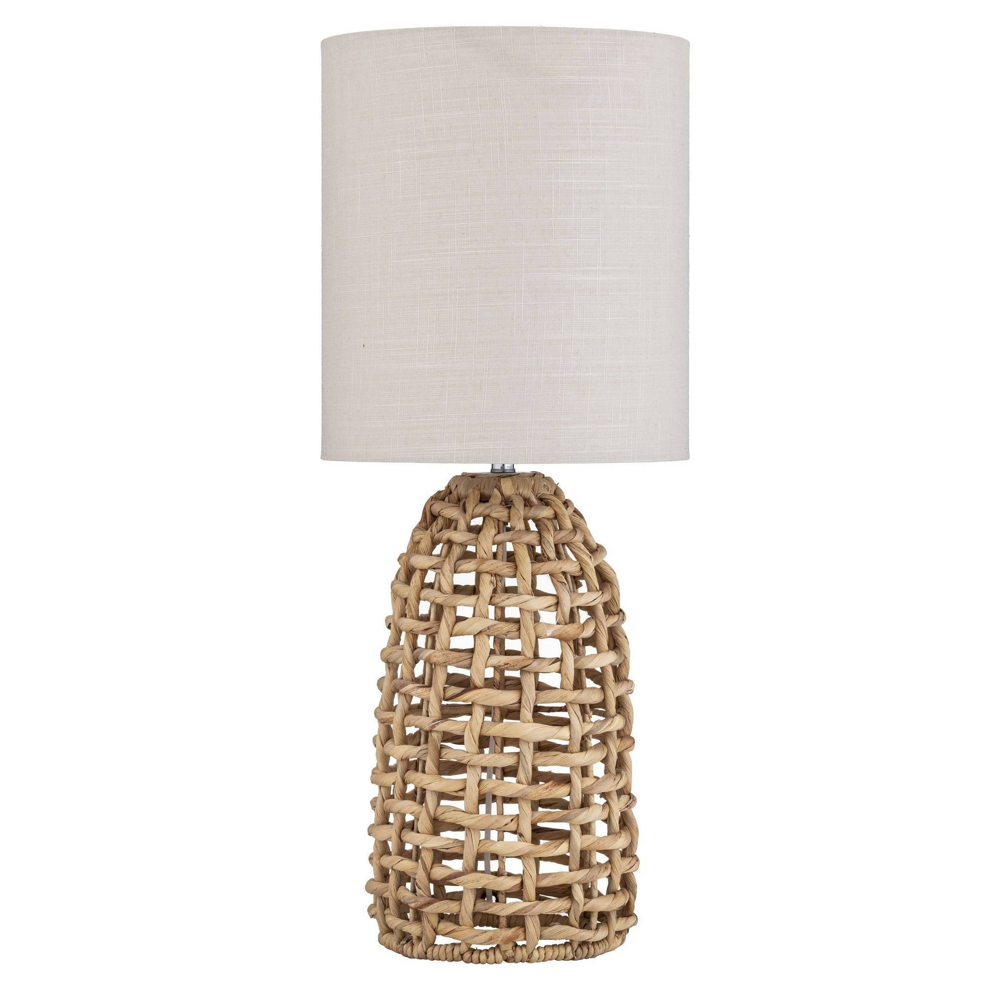 Anguila Water Hyacinth Base Table Lamp