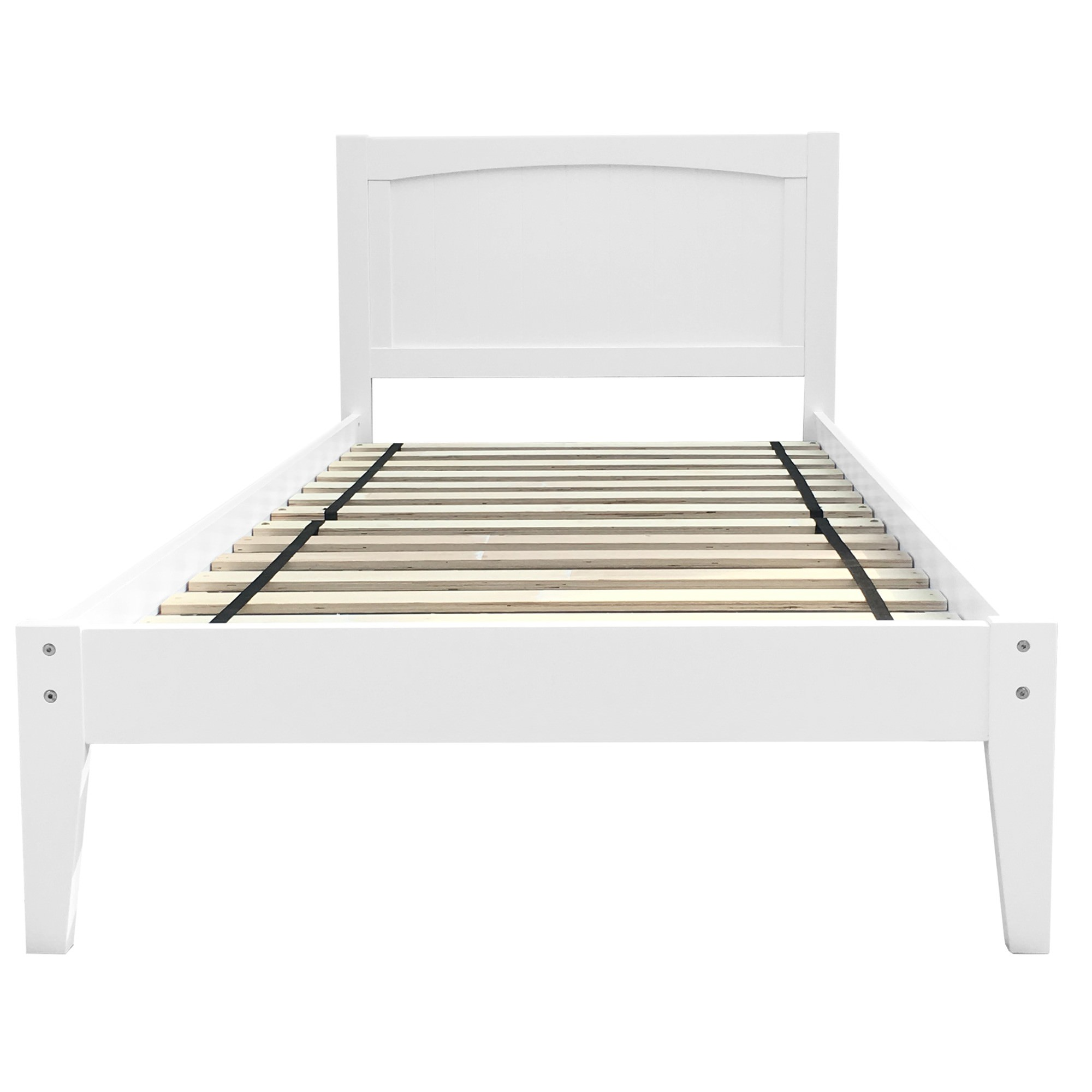 Bidwell Wooden Bed, Single